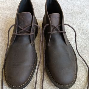 Rockport Men's brown leather chukka boots